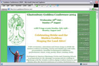Glastonbury Goddess Conference